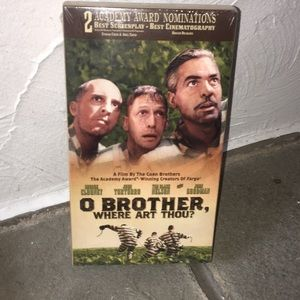 NWT VHS Tape: O Brother, Where Art Thou?